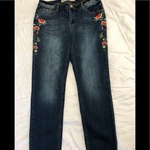 Absolutely Famous Skinny Stretch Jeans
